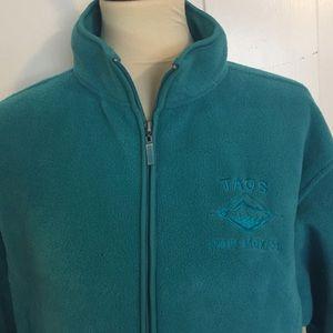 Other - Taos Teal Performance Fleece Jacket. Size XL